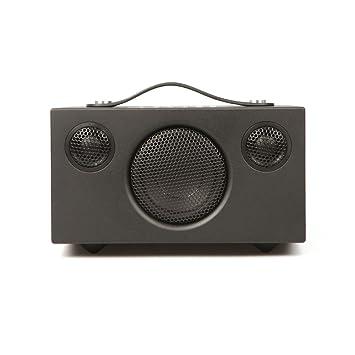 Audio Pro Addon T3 Amplificador estéreo y portátil con Bluetooth, Negro