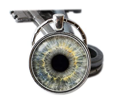 Llavero ojo Globo ocular ojo Globo ocular colgante llavero ...