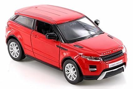 RMZ City Land Rover Range Rover Evoque, Red 555008 - Diecast Model Toy Car but