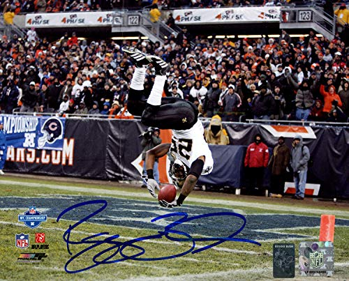 (Reggie Bush Autographed Signed Memorabilia 8x10 Photo New Orleans Saints Rb Holo 151297 - Certified Authentic)
