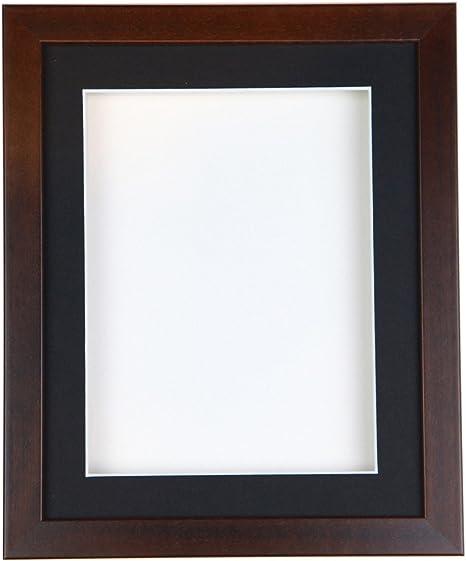 Tailored marcos nogal caja marco para recuerdos, medallas y objetos en 3d, madera, Black moun t, A3(42cmx29.7cm): Amazon.es: Hogar