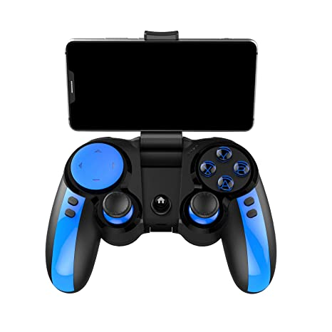 ZJH Controlador inalámbrico Gamepad Bluetooth Gamepad Joystick ...