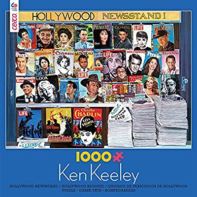 Ken Keeley Hollywood Newsstand Jigsaw Puzzle: Toys & Games