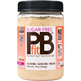 PBfit All-Natural Peanut Butter Powder, Sugar-Free Powdered Peanut Spread from Real Roasted Pressed Peanuts, 368g (13oz)