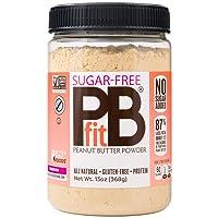 PBfit All-Natural Peanut Butter Powder, Sugar-Free Powdered Peanut Spread from Real...