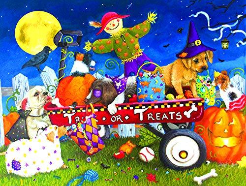 Sunsout 2019 Halloween Puppies by Artist Ashley Davis 300 Piece Jigsaw Puzzle]()