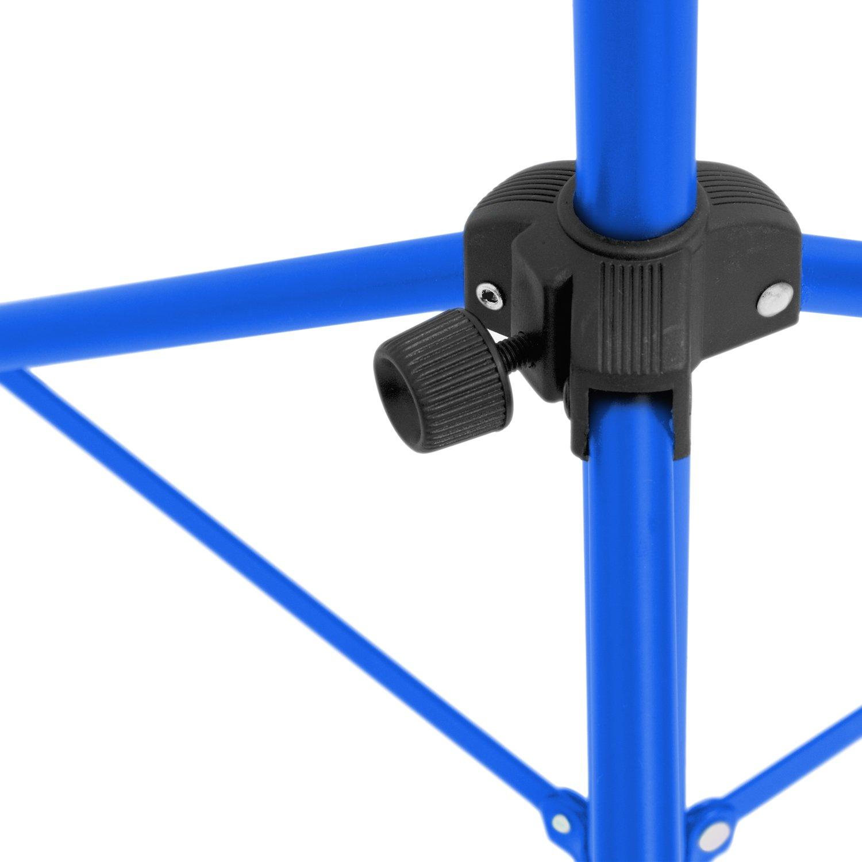 Bleu Tiger MUS56-BL Pupitre dorchestre pliable avec Housse