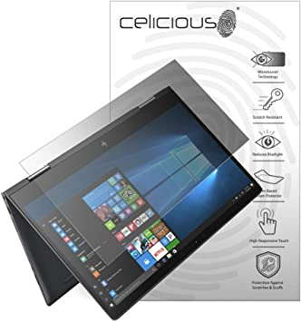 Celicious Matte Anti-Glare Screen Protector Film Compatible with HP ENVY x360 15 BQ051SA Pack of 2