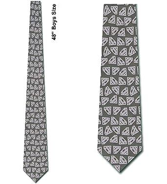 WILHJGH Corbata con logo para niños - Corbatas cómicas para niños ...