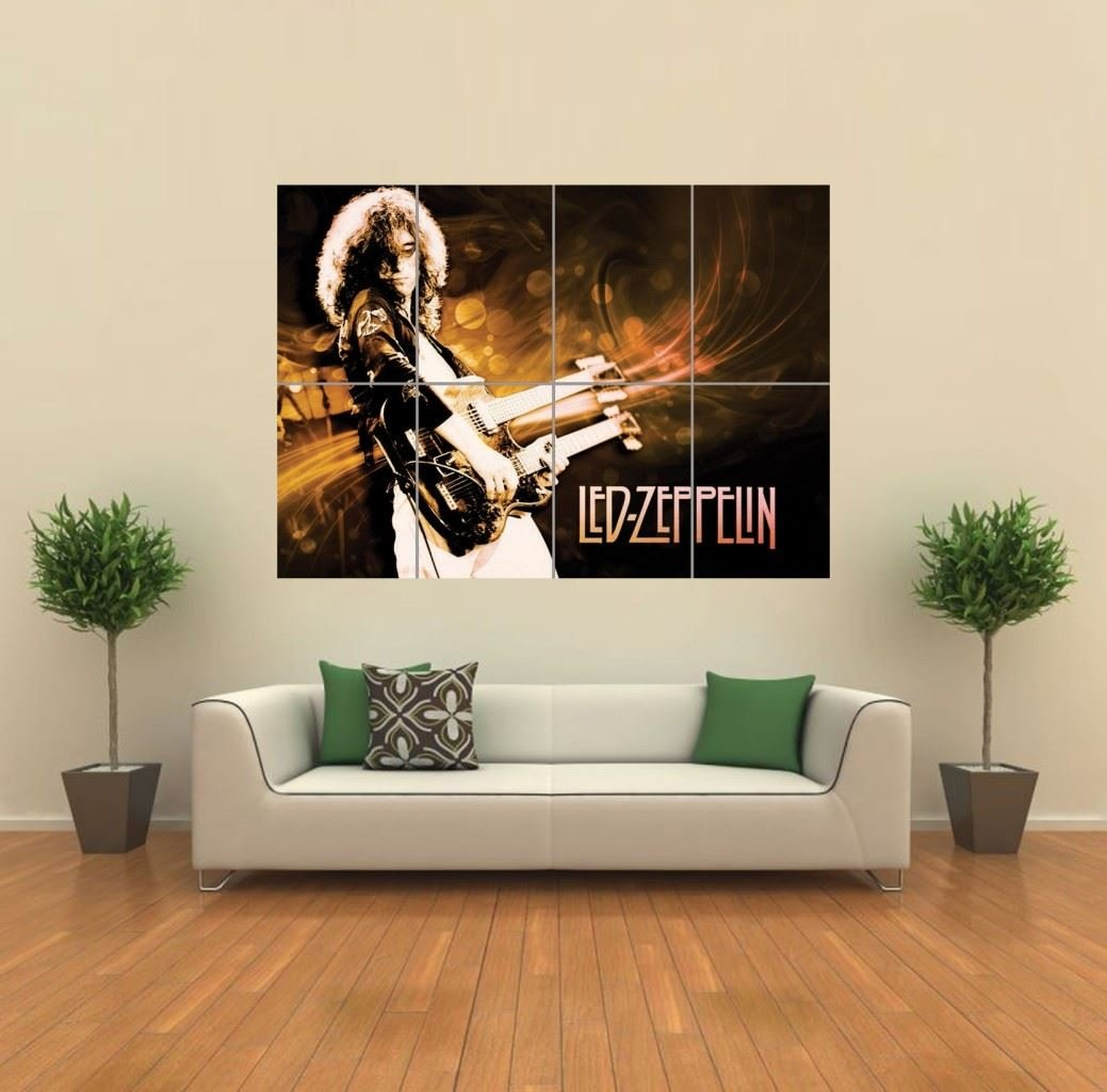 Amazon.com: LED ZEPPELIN GIANT WALL ART PRINT POSTER G774: Posters U0026 Prints