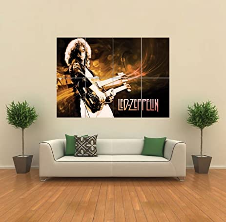 LED ZEPPELIN GIANT WALL ART PRINT POSTER G774