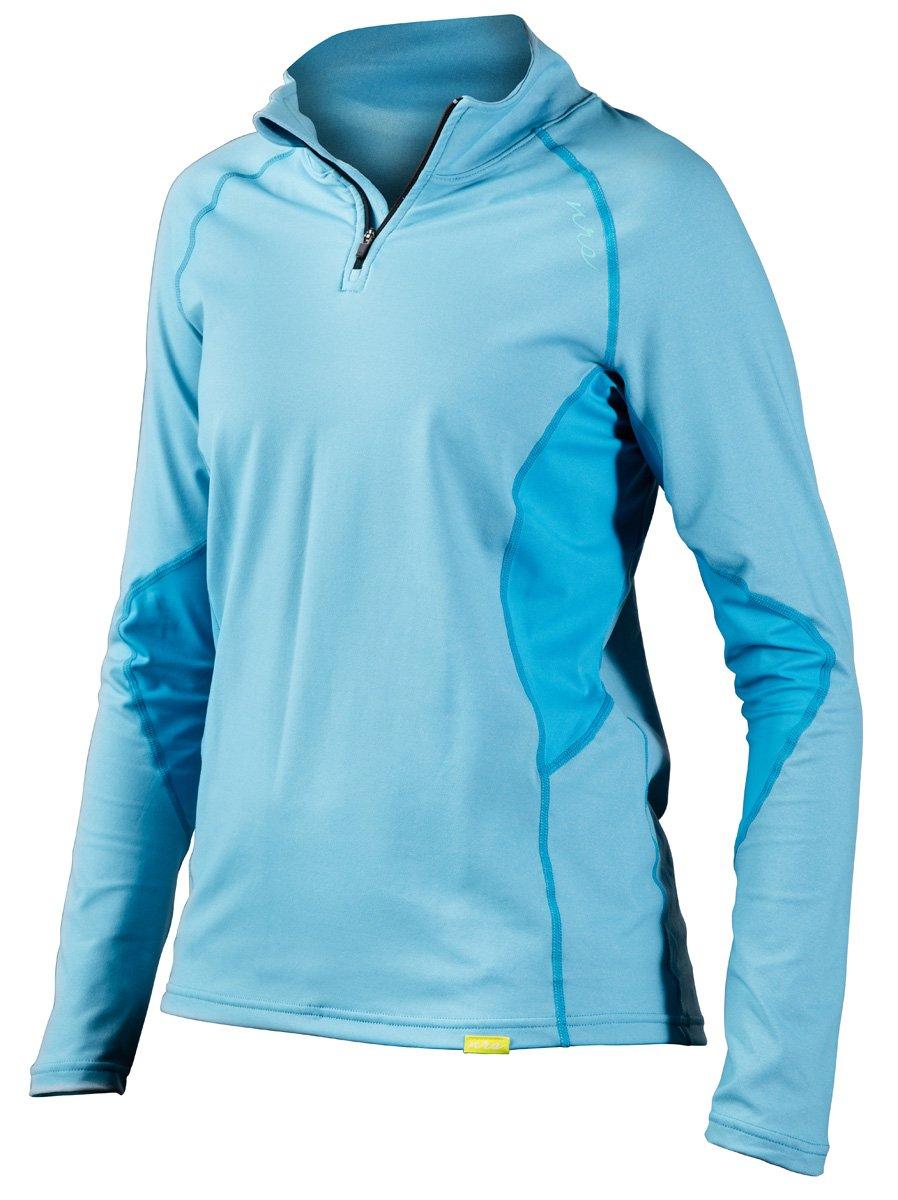 名作 NRS Women h2core軽量zip-neck Shirt – Women 's X-Small B019HN6I2E Azure Blue X-Small Heather B019HN6I2E, トクリサ:796c901f --- senas.4x4.lt