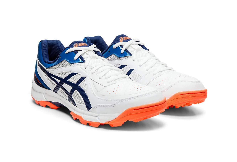 Amazon price history for ASICS Men's White/Blue Expanse Cricket Shoes-11 UK (46.5 EU) (12 US) (P613Y)