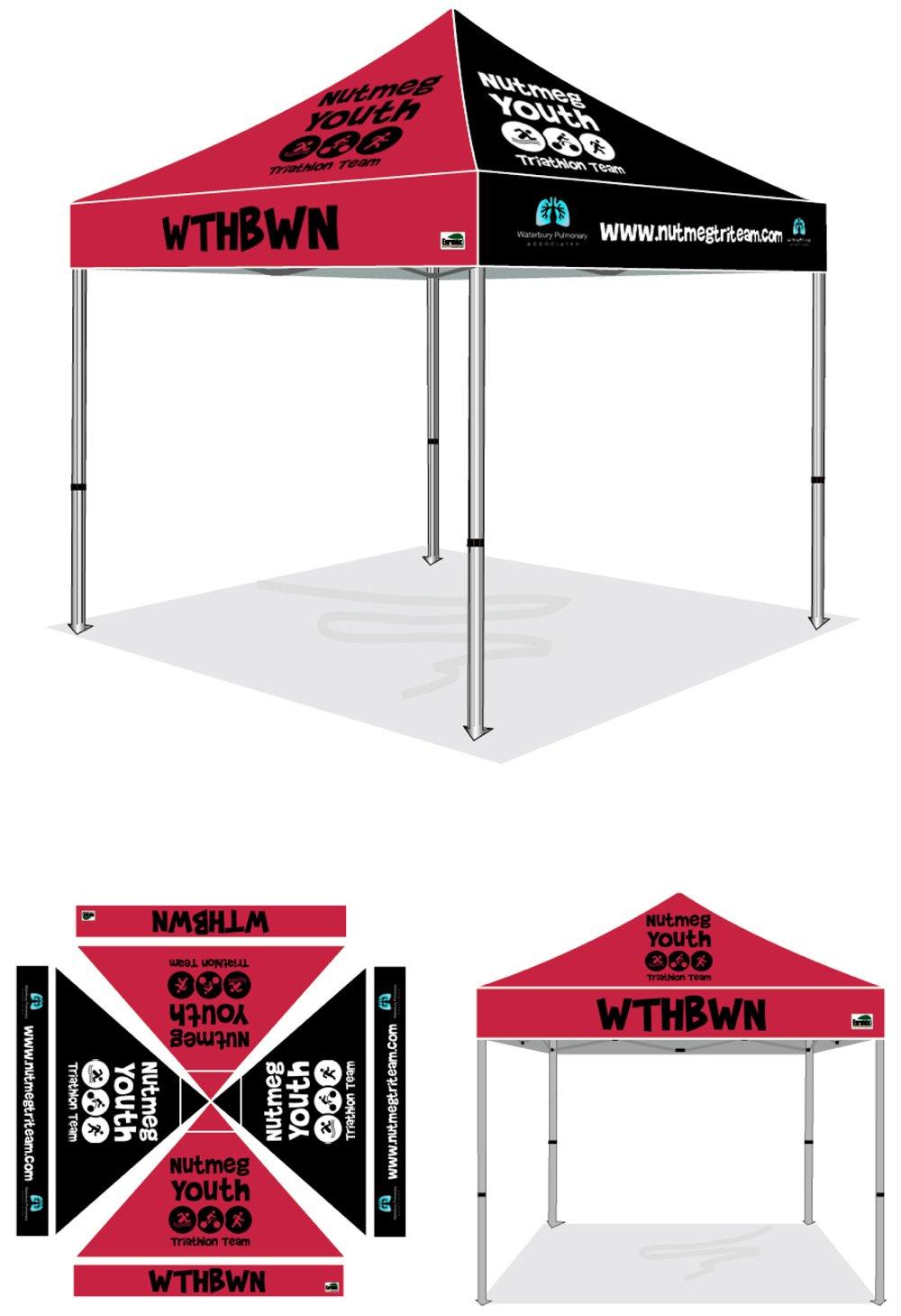 custom team tents. Black Bedroom Furniture Sets. Home Design Ideas