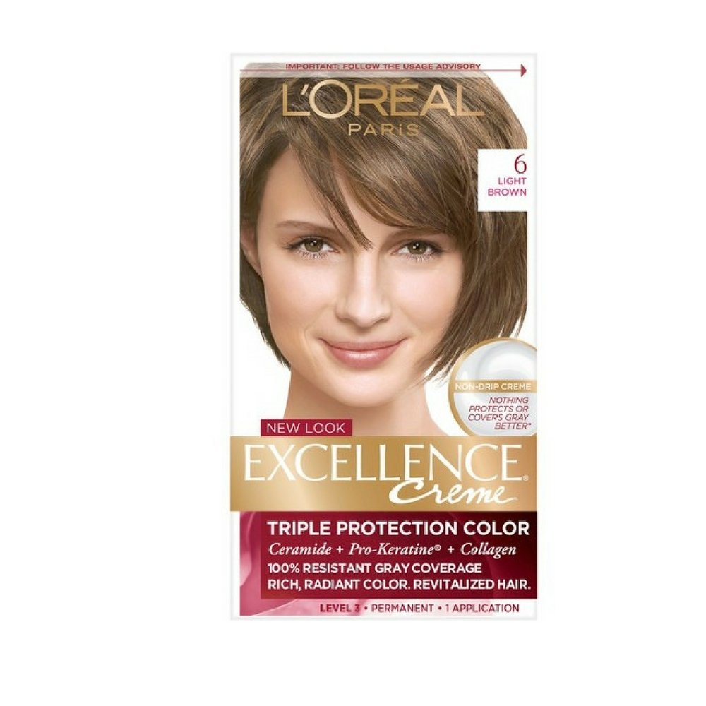L'Oreal Excellence Creme, Light Brown [6] 1 Each (Pack of 6) by L'Oreal Paris