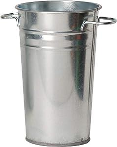 Houston International Trading Steel Metal vase, 10.5