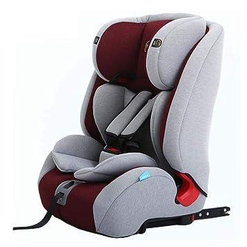 Baby Car Seat ProtectorAdjustable Headrest Booster Five Point Belt