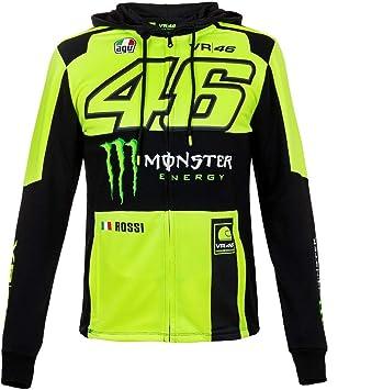 Valentino Rossi VR46 Moto GP Monster Energy Replica Capucha Oficial Nuovo: Amazon.es: Deportes y aire libre