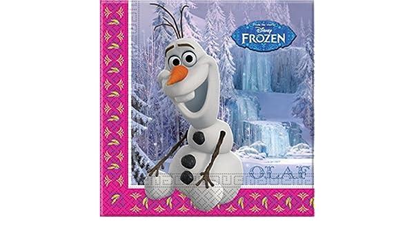 Disney - Vela de cumpleaños, diseño de Frozen.: Amazon.es ...