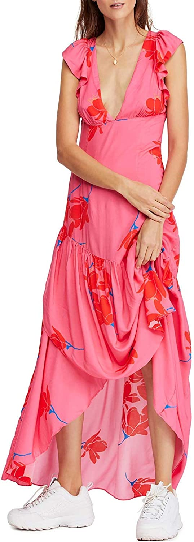 Free People Women's She's a Waterfall Maxi Dress
