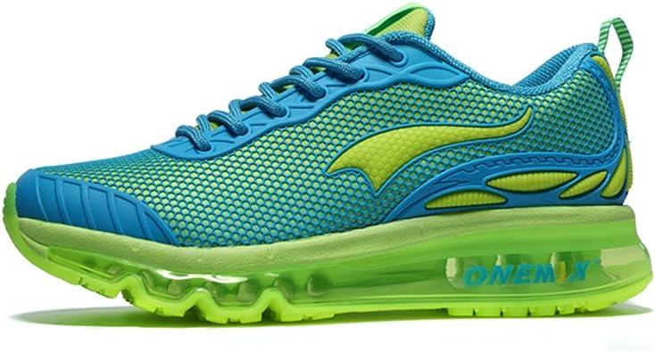Onemix Air Zapatillas de Running para Hombre y Mujer Zapatos para Correr y Asfalto Aire Libre y Deportes Calzado: Amazon.es: Zapatos y complementos