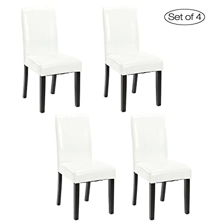 Amazon Set Of 48 Dining Room Chair With Solid Wood Legs Delectable How To Clean Dining Room Chairs