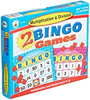 Carson-Dellosa multiplication and Division Bingo