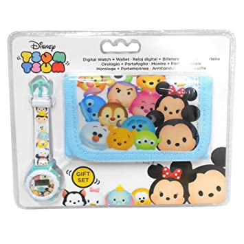 Set regalo Tsum Tsum Disney billetera reloj