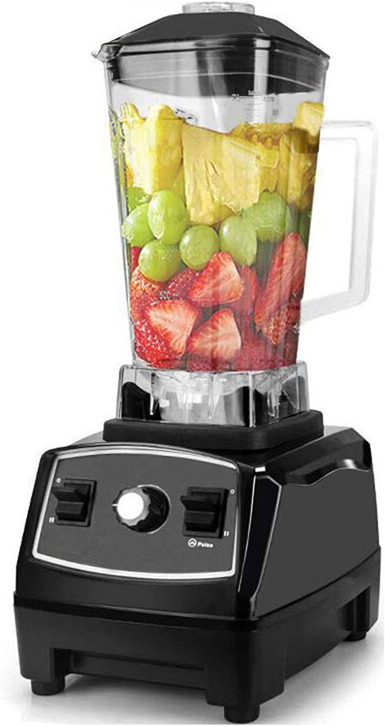 JXSD Electric Stainless Steel Blender, 2200W 10-Speed, 45000 RPM, BPA-Free, with 2L Container for Smoothie, Shakes, Frozen Fruit, Ice and Baby Food