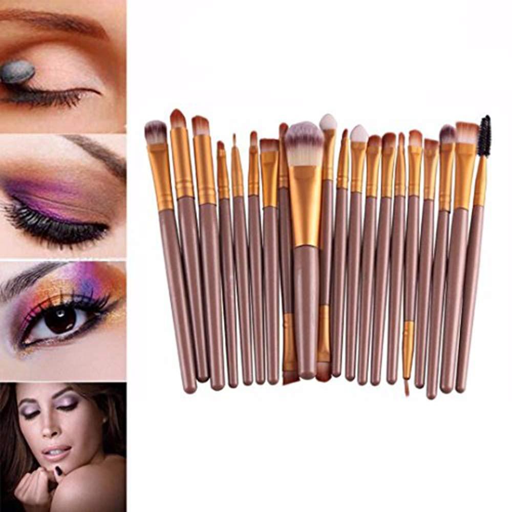 Stockton Pro makeup 20PCS brushes set ombretto eyeliner labbro spazzola polvere fondazione strumento oro