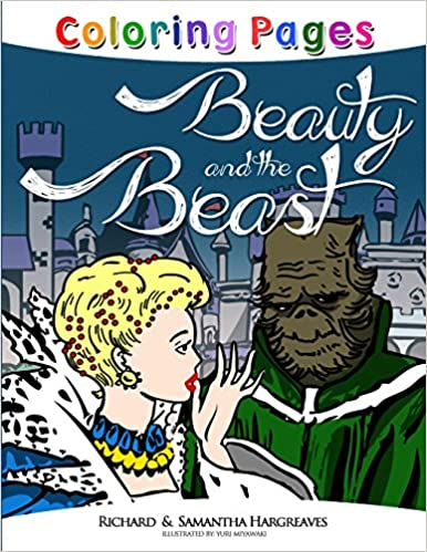 Beauty and the Beast Coloring Pages: Volume 1 (Coloring Books for Kids)