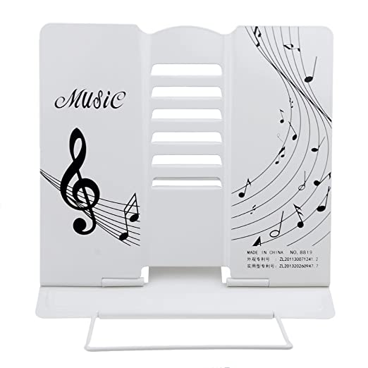 Amazon.com : Metal Reading Rest Adjustable Portable Reading Stand with Notes Cook Book Stand Document Holder Reading Holder Music Stand Computer Stand ...