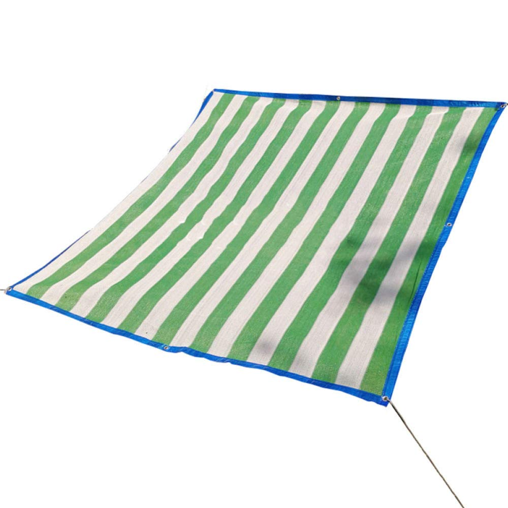 Liul Sonnenschutz Net Shading Netting Verschlüsselung Wärmedämmung Polyethylen Anti-UV-Pergola Cover Einfach Zu Falten, 2 Farbe,Grün-4x5m