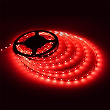 Red led strip light waterproof led flexible light strip 12v with red led strip light waterproof led flexible light strip 12v with 300 smd 3528 led aloadofball Gallery