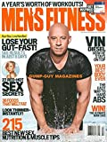 Men's Fitness 2017 Magazine VIN DIESEL: KING OF HOLLYWOOD BLOCKBUSTERS Guy Food: No-Sugar MealsTo Boost Weight Loss and Balance Your Diet