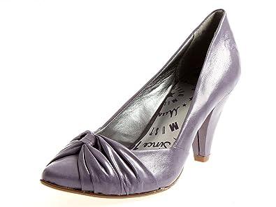 Mustang 79958 877 Pumps High Heels Damen Schuhe Flieder Amazon De