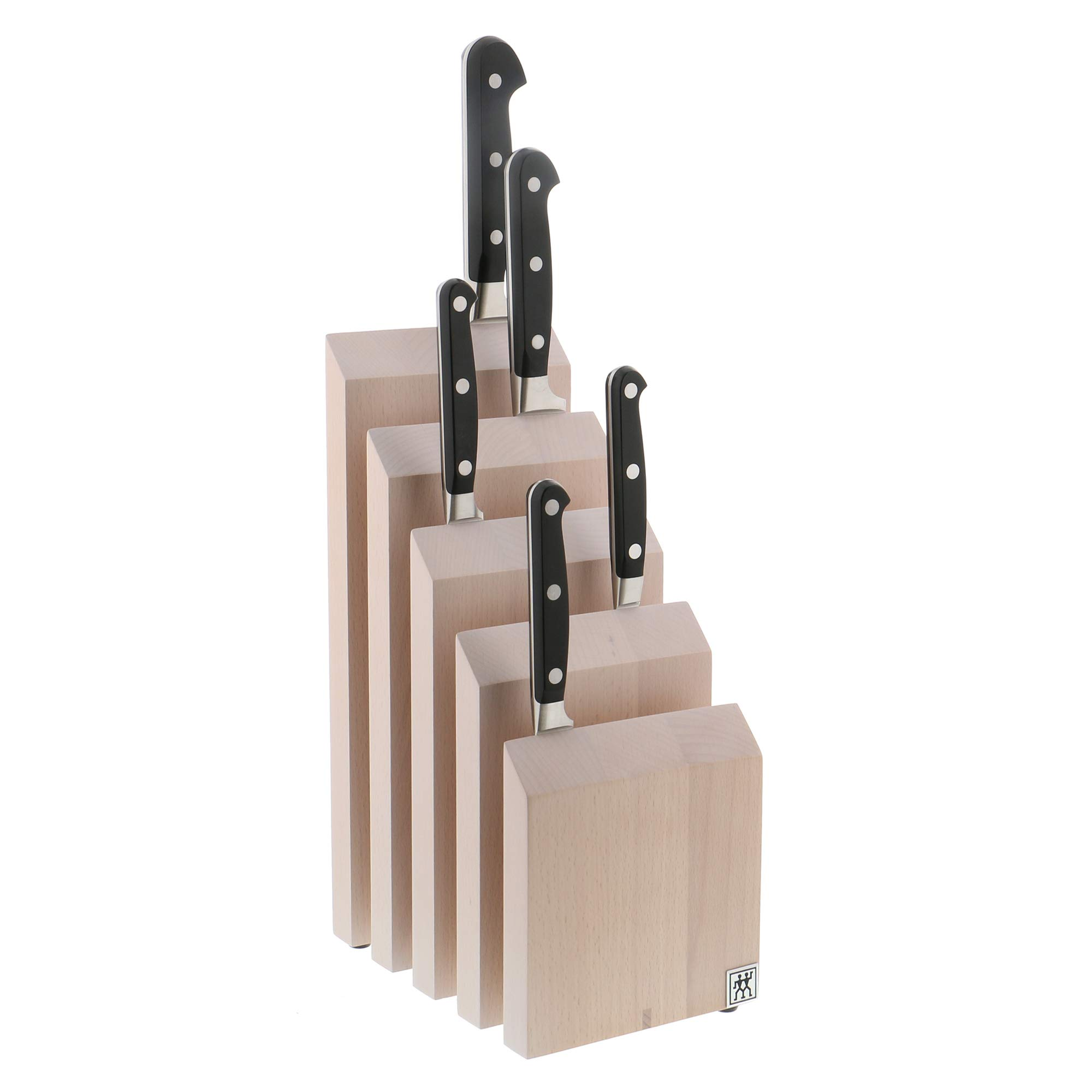 ZWILLING Italian Upright Magnetic Knife Block - White-Colored Beechwood by ZWILLING J.A. Henckels (Image #2)