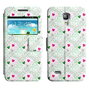 LEOCASE corazón lindo Funda Carcasa Cuero Tapa Case Para Samsung Galaxy S4 Mini I9190 No.1004463