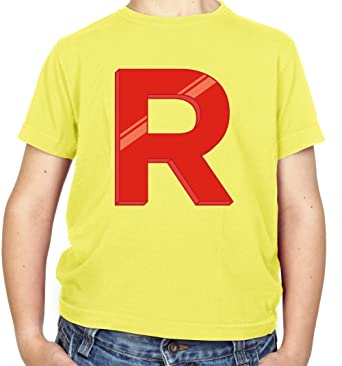 aa5e9936 Team Rocket - Childrens / Kids T-Shirt - 8 Colours - Ages 3-14 Years:  Amazon.co.uk: Clothing