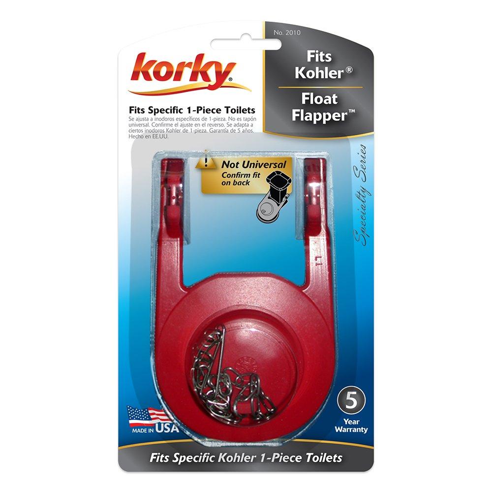 Korky 2010BP Rialto Float Flapper For Kohler Toilet Repairs ...