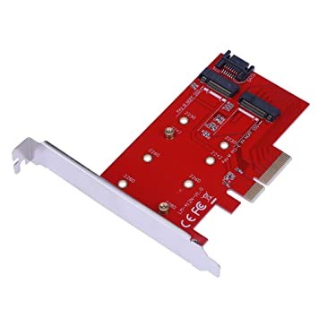 PCI-E x4 A NGFF (M.2) Disco Duro SSD Tarjeta de extensión ...