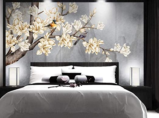 Papier Peint 3D Mur De Fond Tv 430cmX300cm Salon Chambre ...
