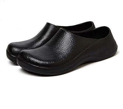 f879fa816c9 HAWAOO Chef Shoes Nurse Shoes Women Chef Shoes Men Slip Resistant Chef Clog  Restaurant Non Slip