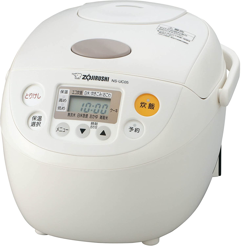ZOJIRUSHI (3 cups) Rice cooker / Suihanki NS-UC05-WB (White) [JAPAN]