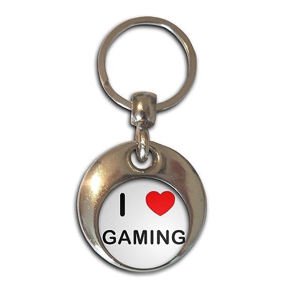 BadgeBeast.co.uk I love Gaming - Cromo Ronda de doble cara ...