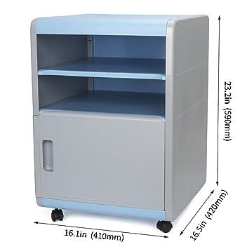 Escritorio Cajón caja de almacenamiento organizador de cajones unidad de almacenamiento de escritorio con archivador A4 de plástico para oficina, ...