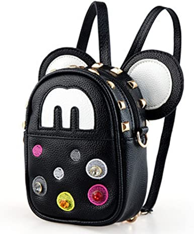 Women Ladies Small Mini Camouflage School Backpack Travel Shoulder Bag Rucksack