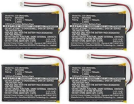 Corsair mh45908 batería de repuesto Paquete Combinado incluye: 4 x sdhp-p1459 pilas: Amazon.es: Electrónica