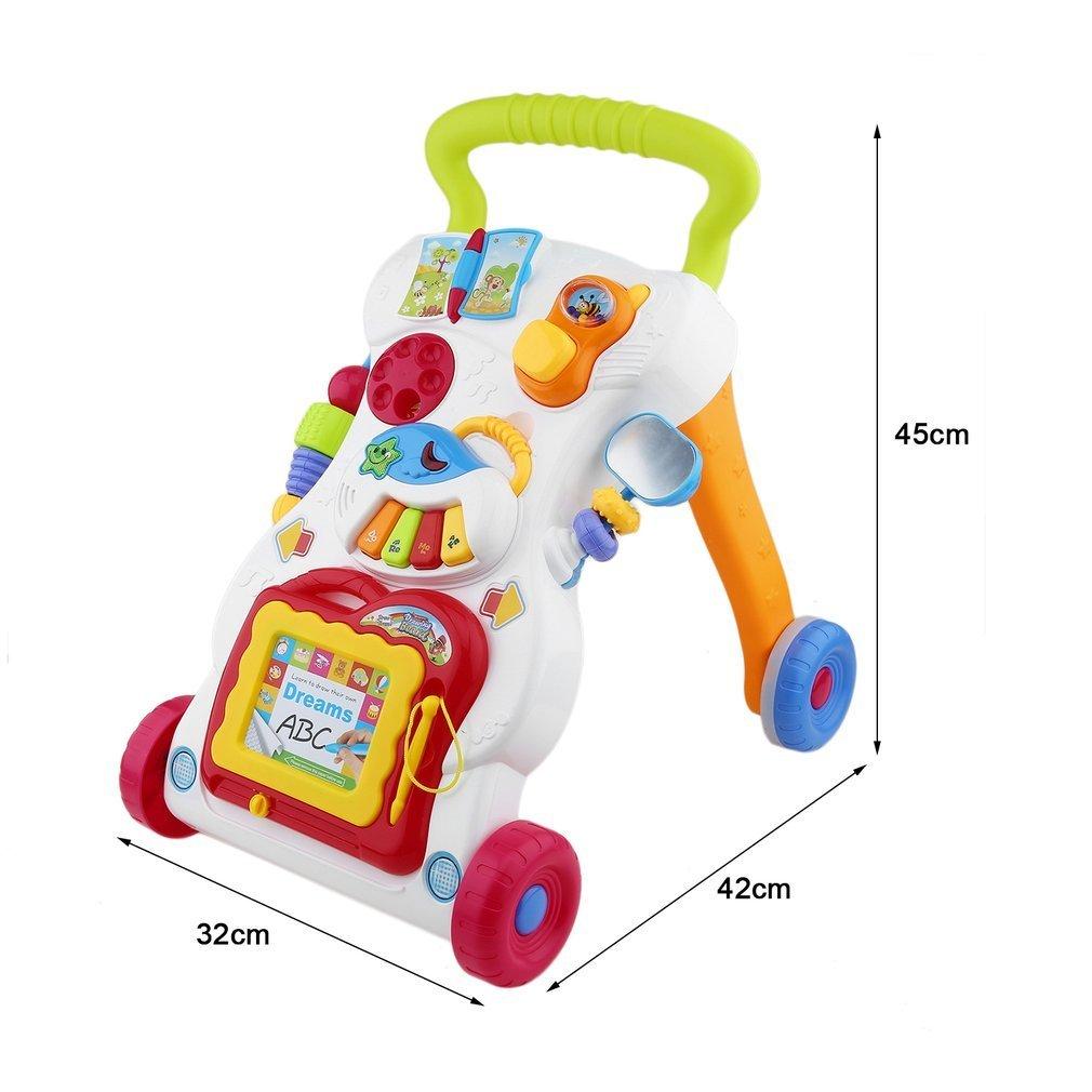 Carrito multifuncional para bebé, con tornillo ajustable: Amazon.es: Bebé
