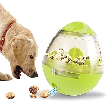 Juguete para perro dispensador de comida juguete dispensador de croqueta de Animal cuenco de Culbuto Animal de compañía juguete interactiva de Poussah ...